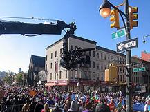 Brooklyn Jimmy Jib shoot, Howard Heitner Jib Operator