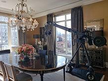 East Side Penthouse jib shoot, Howard Heitner Jib Operator