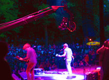 Jimmy Jib Triangle at Prospect park Concert, Brooklyn NY