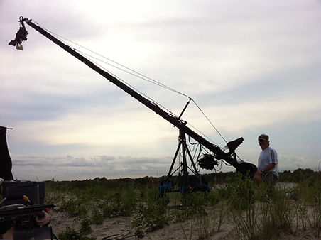 Jib shoot at Jersey Shore, New Jersey