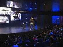 Jimmy Jib camera system perfect for shooting comedy shows