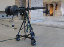 Jimmy Jib at Metropolitan Museum of Art, Howard Heitner Jib Operator