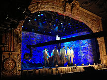 Broadway show jib shoot, Howard Heitner Jib Operator