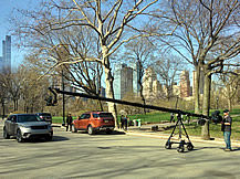 Jimmy Jib at Central Park NYC
