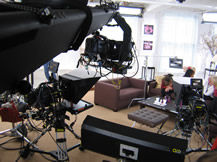 Jibs for infomercials, Howard Heitner Jib Operator