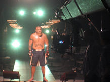 jimmy jib for MMA sizzle