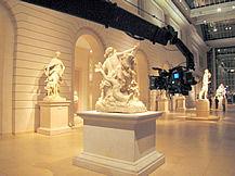 Museum of Art NYC jib shoot, Howard Heitner Jib Operator