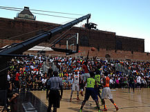 basketball and sporting events with Jimmy Jib camera crane