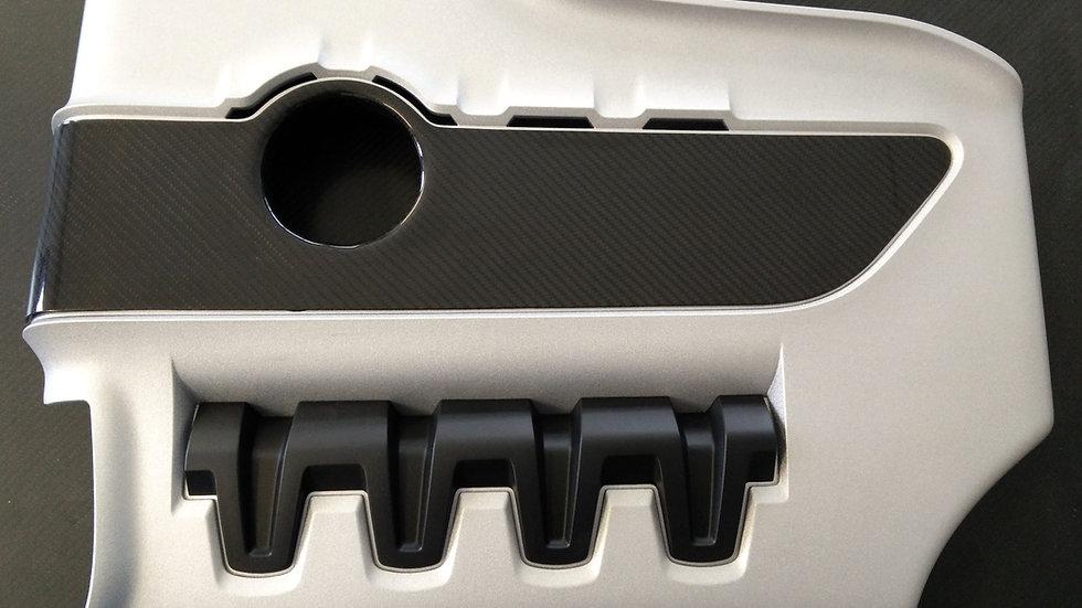 Carbon Einsatz Audi TTS Motorabdeckung