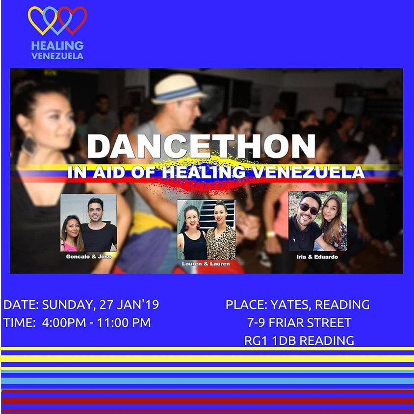 Fundraising Venezuela. Dance Classes & Party