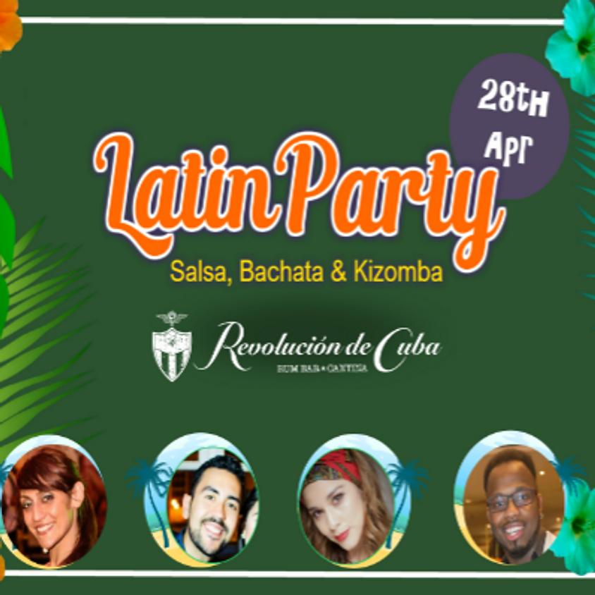 Latin Party Salsa, Bachata and Kizomba. Social Dance SBK