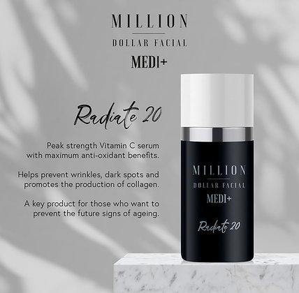 Medi+ Radiate 20 | 30ml