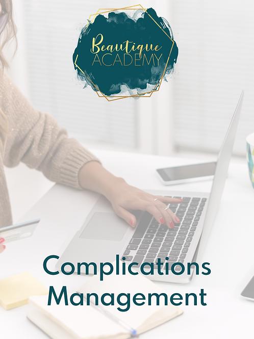 Complications Management
