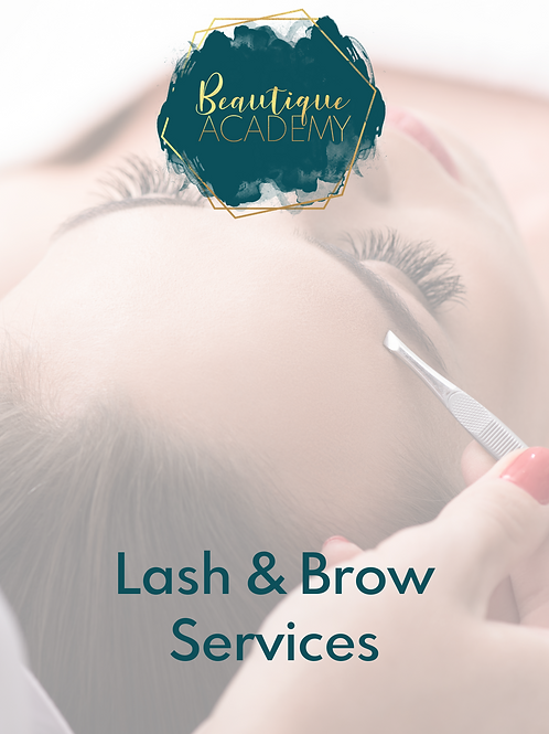 Lash & Brow Services