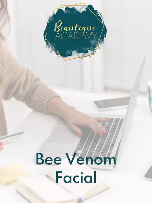 Bee Venom Facial
