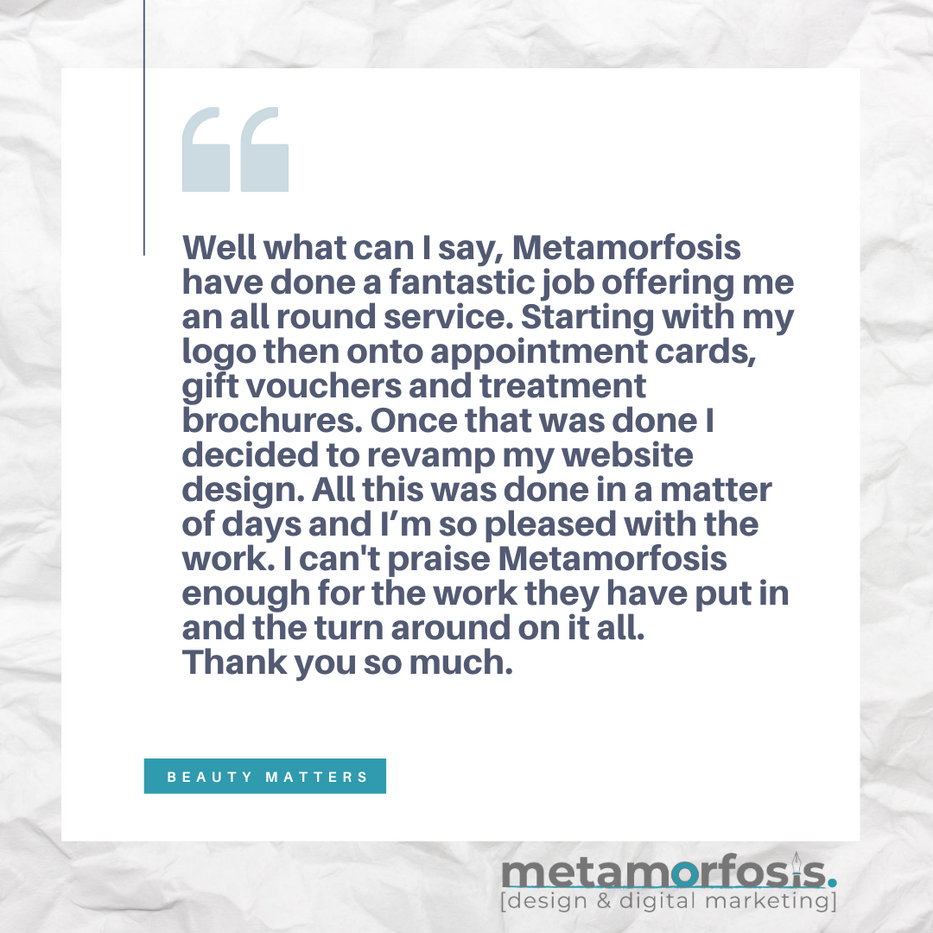 Metamorfosis - Client Reviews