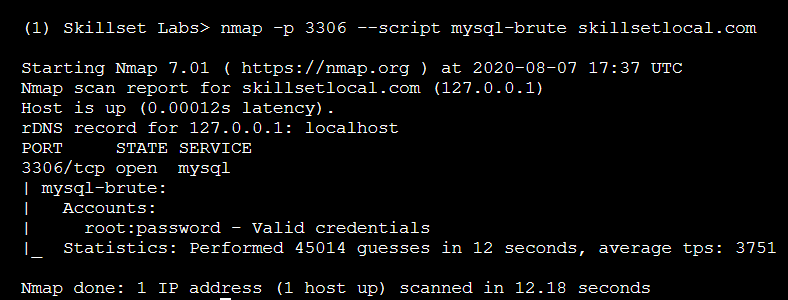 Advance scanning with Nmap