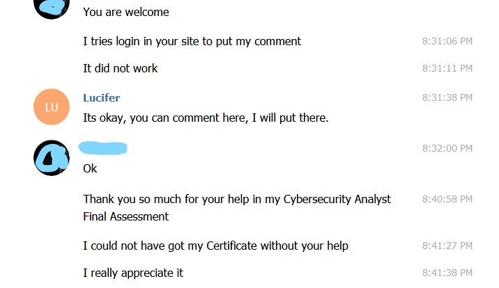 IBM Cyber Security Analyst Assessment