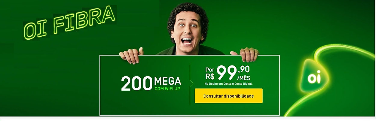 3 OI FIBRA 200 INTERNET BANDA LARGA PLAN