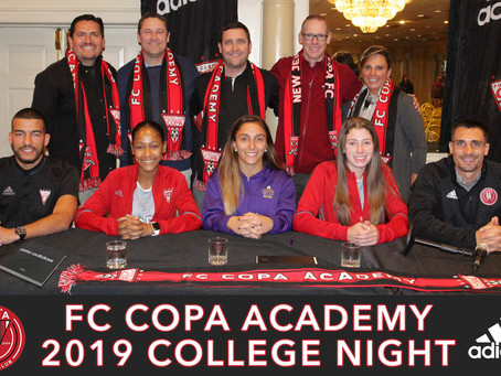 COLLEGE NIGHT 2018: ASSISTING OUR MEMBERS