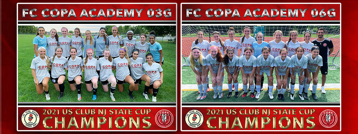 FC Copa Celebrates Two US Club State Championships