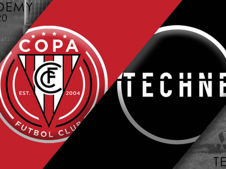 FC Copa Academy Launches Partnership with Techne Futbol
