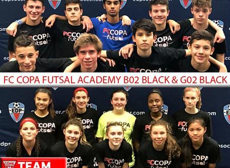 B02 BLACK & G02 BLACK - FUTSAL STATE SEMI-FINALISTS