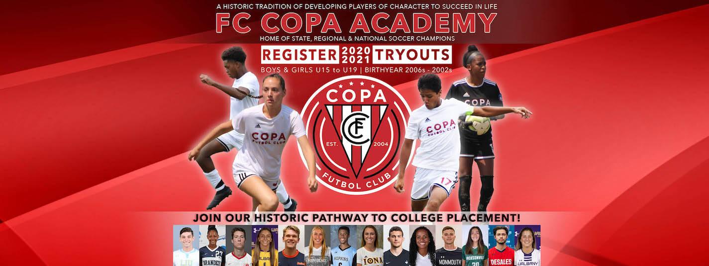 Register for FC Copa Tryouts