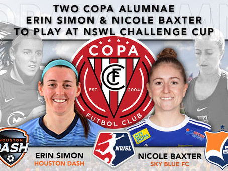 Two Copa Alumnae Named To NWSL Challenge Cup