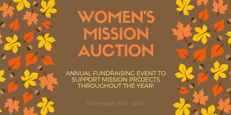 Annual Women's Mission Auction