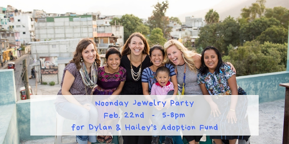 Noonday Jewelry/Accessories Party