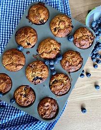 Blueberry ontbijtmuffins