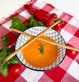 Tomatensoep a la crème
