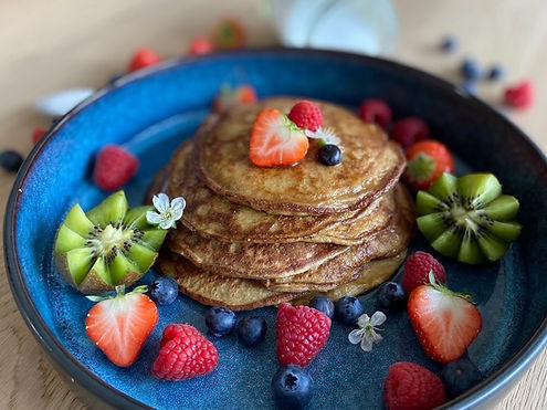 Gezonde glutenvrije pancakes