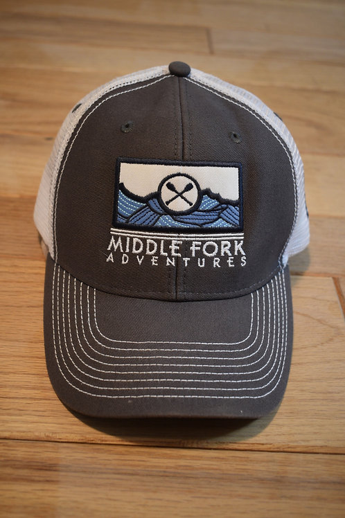 Blue Wave Trucker Hat
