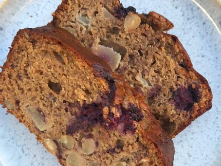 Hazelnut Blackberry & Pear Loaf