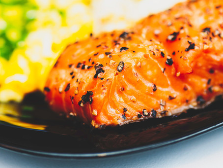 Miso Glazed Salmon & Broccoli Mash