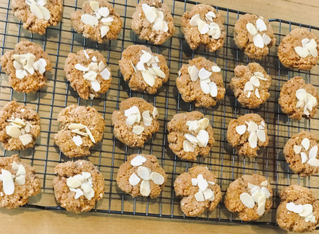 Tahini Almond Biscuits