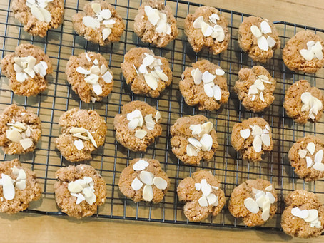 Tahini Almond Biscuits
