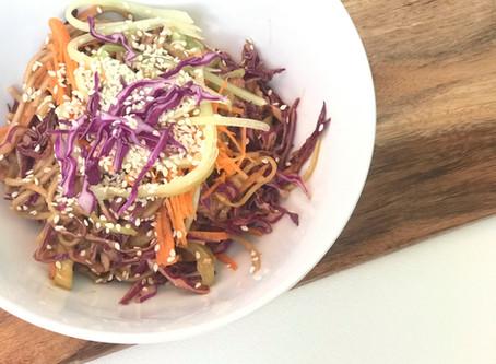 Plant based Soba Noodle Salad