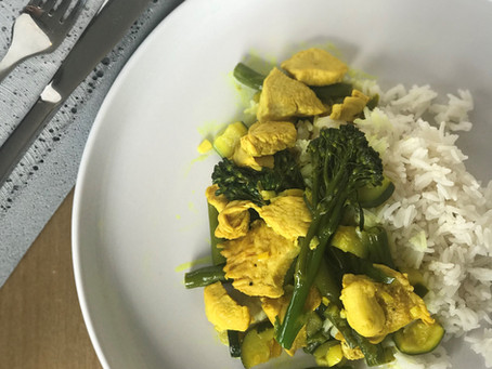 Turmeric Chicken Curry