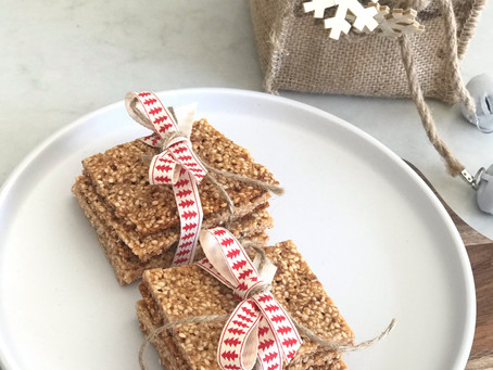 Healthy Sesame Snaps