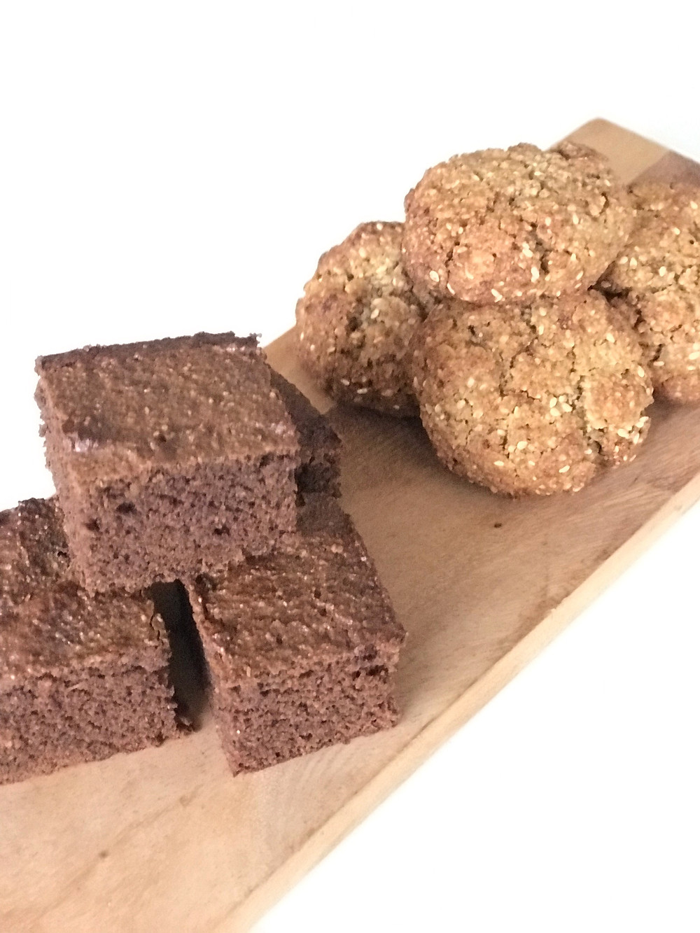 seed cycling recipes, seed cycling, pumpkin seed recipes, flaxseed recipes, healthy brownie, seed cycling cookies, sesame cookies, healthy baking