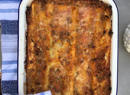 Healthy Lasagna with Bone Broth