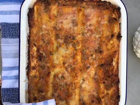 Healthy Lasagna with Bone Broth