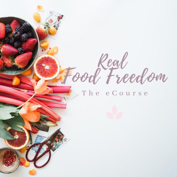 Real Food Freedom eCourse