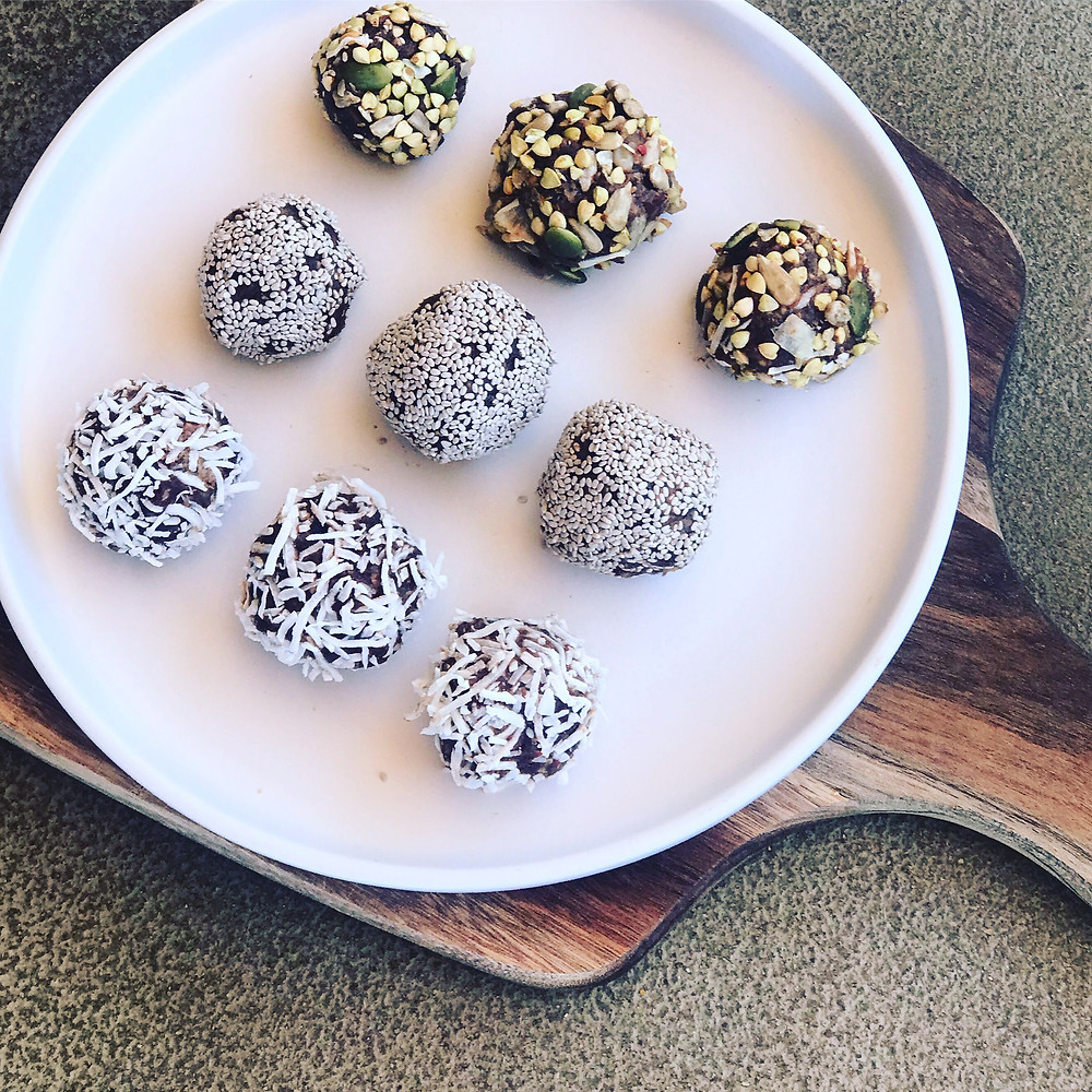 bliss balls, gluten free, refined sugar free, healthy snack, kids snacks, nutrition