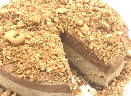 Macadamia Mousse Cake