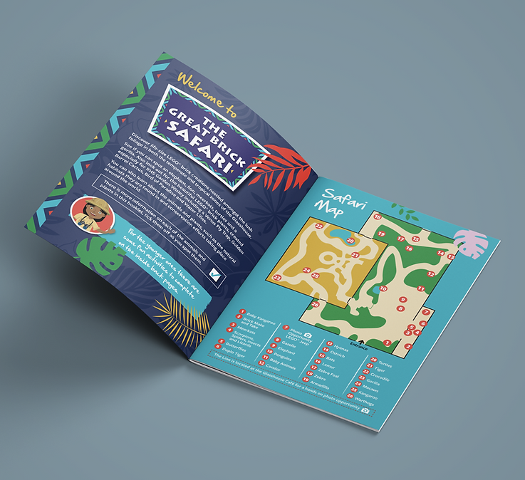 exhibition brochure