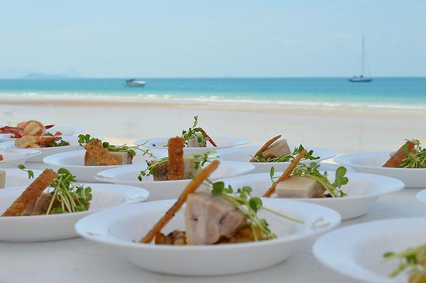 Catering Whitehaven Beach Fish Dvine